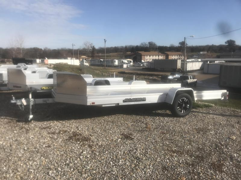 2019 Aluma UTR 14 SIDE BY SIDE Utility Trailer
