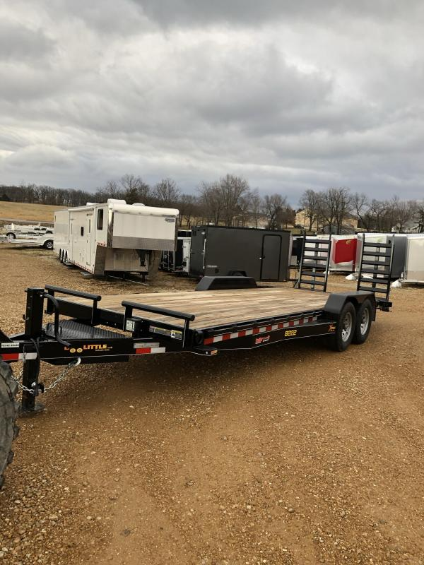 2019 Doolittle Trailer Mfg 82X22 Flatbed Trailer