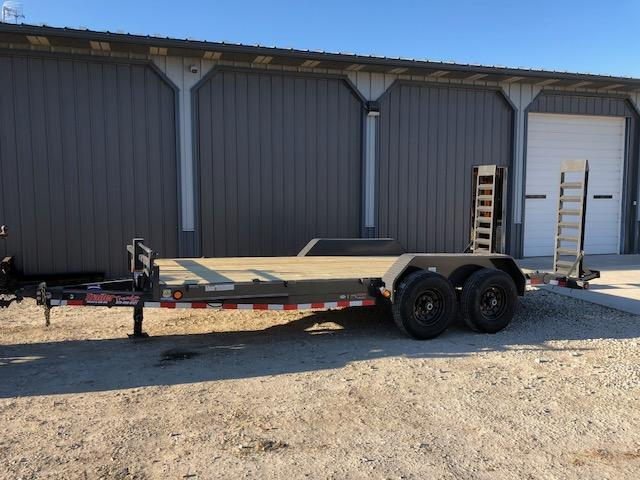 2018 Load Trail 83X18 14K STAND UP RAMPS Equipment Trailer