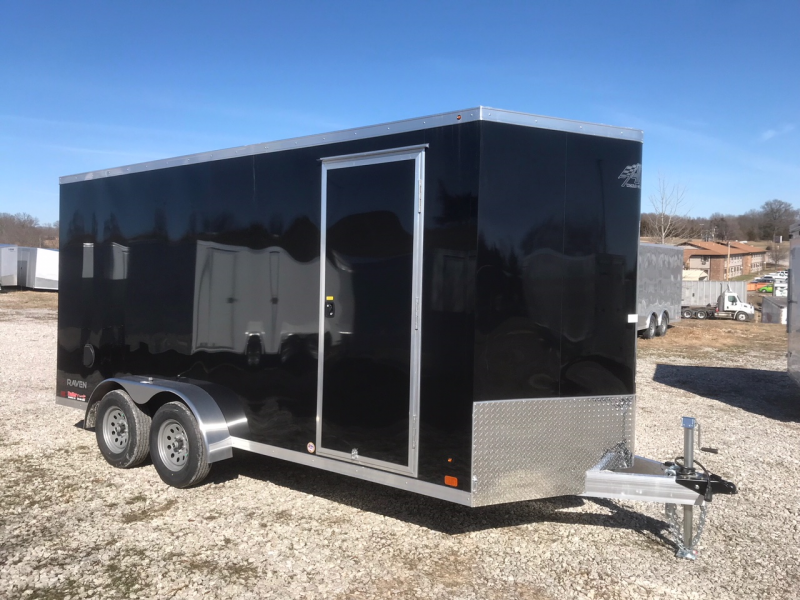 2018 ATC 7x16 ALL ALUMINUM 7K TORSION AXLE Enclosed Cargo Trailer