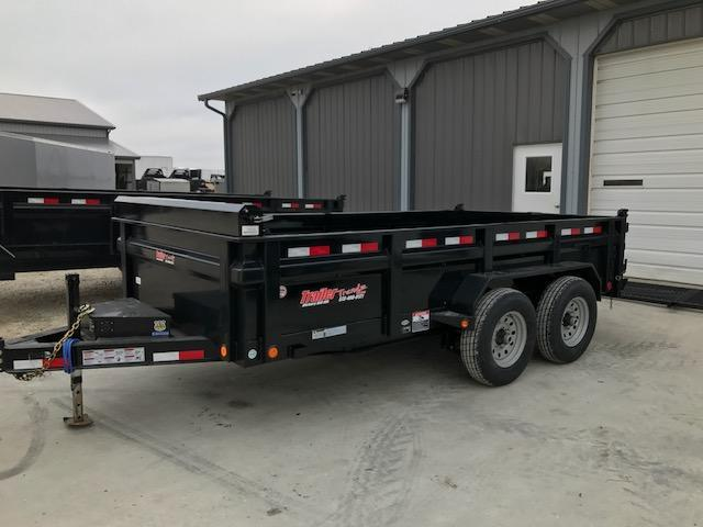 2018 Load Trail 83x14 14k LOW PRO Dump Trailer