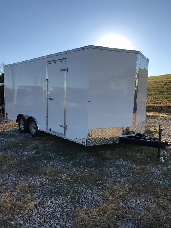 2018 Continental Cargo 8.5X18 VEE SERIES ENCLOSED Car / Racing Trailer