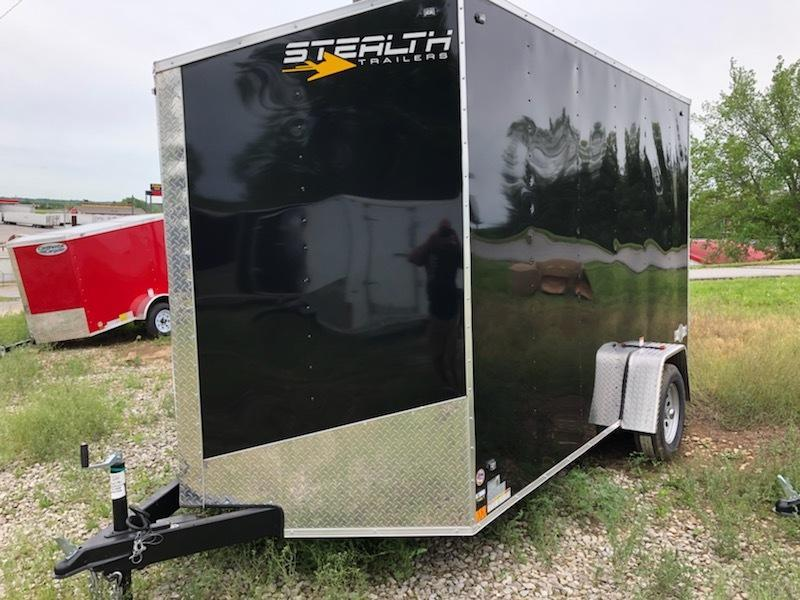 2020 Stealth Trailers 7X12 Enclosed Cargo Trailer