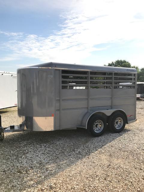 2017 Delta Manufacturing BUMPER HORSE Livestock Trailer 6