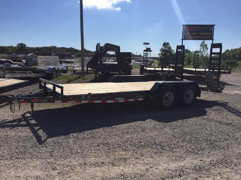 2017 Load Trail CH 83X18 Equipment Trailer