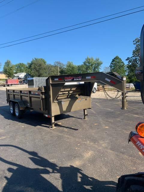 2020 Load Trail 83X16 LOADTRAIL DUMP 16K GVW MAX STEPS SLIDE RAMP Dump Trailer