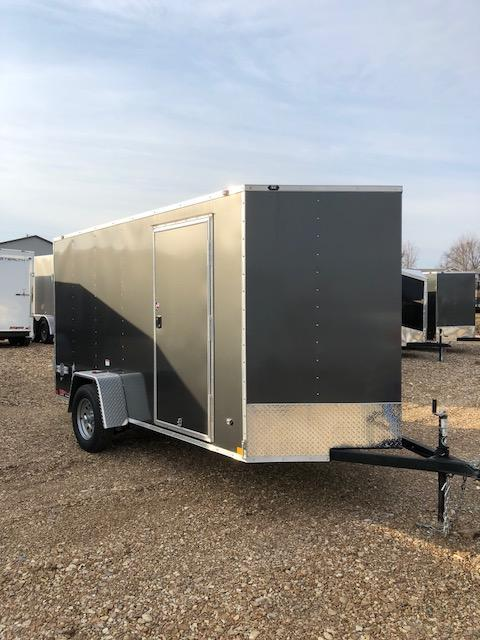 2018 Stealth Trailers 6x12 MUSTANG SINGLE AXLE DOUBLE REAR DOOR Enclosed Cargo Trailer
