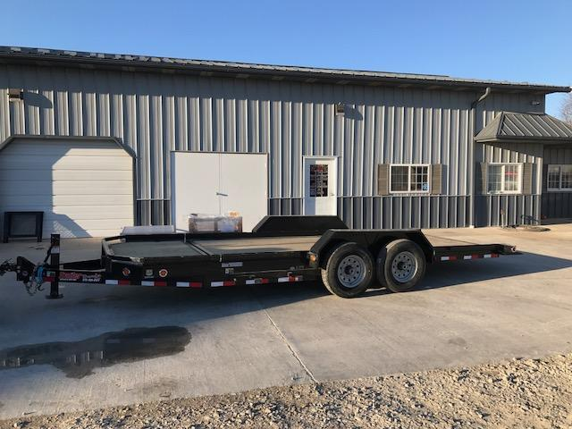 2018 Load Trail 83X20 LOW PRO 14K TORSION AXLES TILT Equipment Trailer