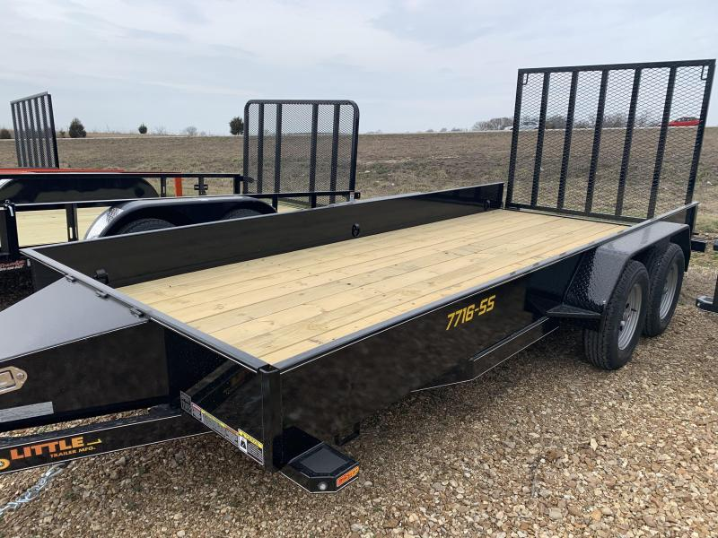 2019 Doolittle Trailer Mfg 77x 16 SS Utility Trailer