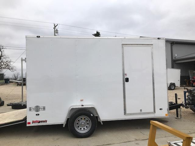 2018 Stealth Trailers 7X12 MUSTANG SINGLE AXLE Enclosed Cargo Trailer
