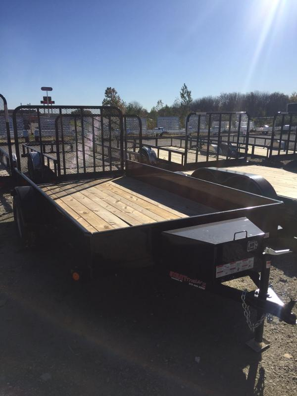 2018 Load Trail SS77X12 Utility Trailer