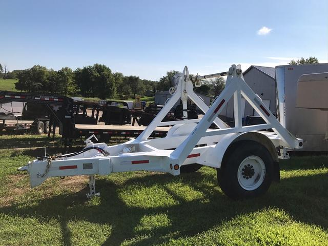 USED 1989 Butler Reel Trailer Equipment Trailer 15K 1 Brake On Wire Axle Up To 8