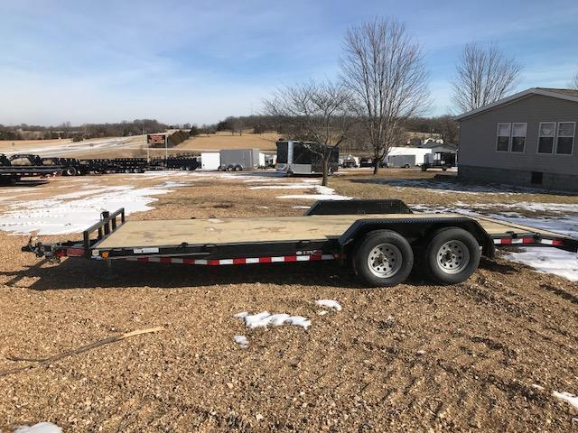 2018 Load Trail 83x20 10K SLIDE IN RAMPS Car / Racing Trailer