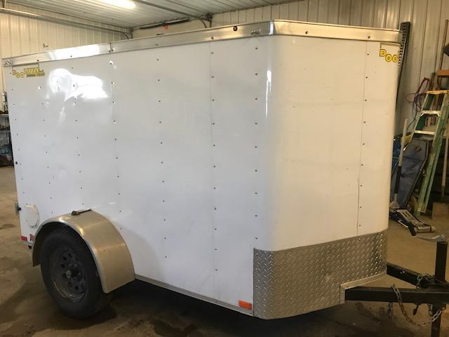 2016 Doolittle Trailer Mfg 5X8 Enclosed Cargo Trailer