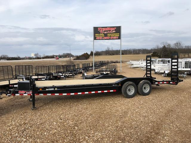 2018 Load Trail 102X24 14K STAND UP RAMP DRIVE OVER FENDER Equipment Trailer