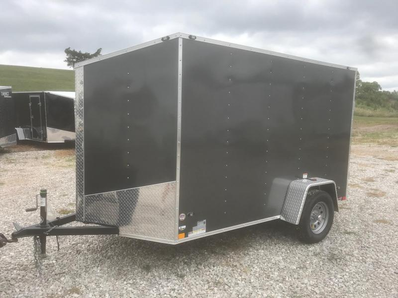 2019 Stealth Trailers 6X10 MUSTANG METALLIC CHARCOAL Enclosed Cargo Trailer