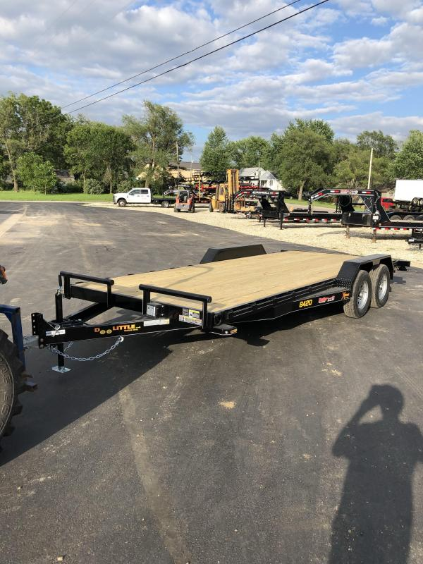 2020 Doolittle Trailer Mfg 84X20 DOOLITTLE XTREME SLIDE IN RAMPS Car / Racing Trailer