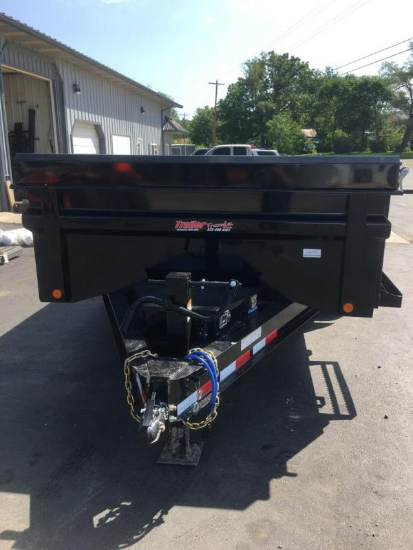 2019 Load Trail 83X14 LOAD TRAIL DUMP ELEC BRAKES SLIDE IN RAMPS Dump Trailer