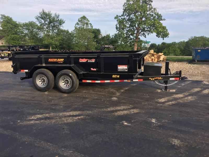 2019 Doolittle Trailer Mfg 82X14 Dump Trailer