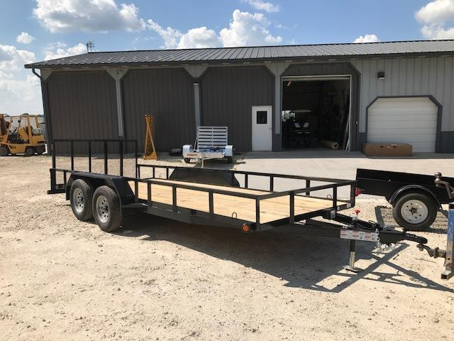"2017 Load Trail UE7718 Utility Trailer 77"" X 18"