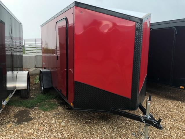 2019 Impact Trailers 6X12 TREMOR Enclosed Cargo Trailer