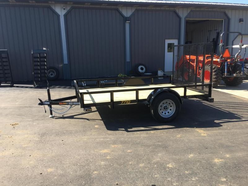 2019 Doolittle Trailer Mfg 77x10 Rally Sport Utility Trailer