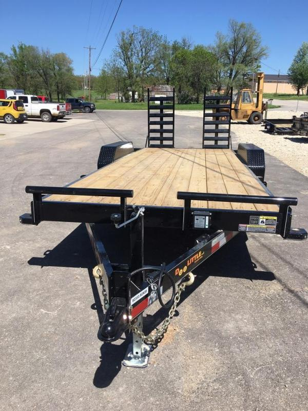 2019 Doolittle Trailer Mfg 84X20 Flatbed Trailer