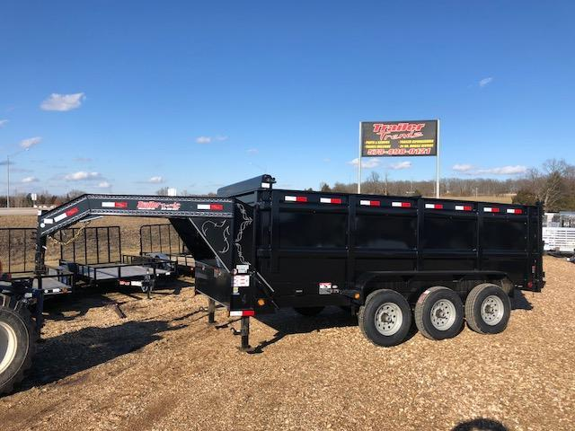 2018 Load Trail 83X16 21K TRIPLE AXLE Dump Trailer