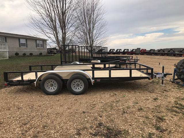 2018 Load Trail 77x16 UE TANDEM AXLE Utility Trailer