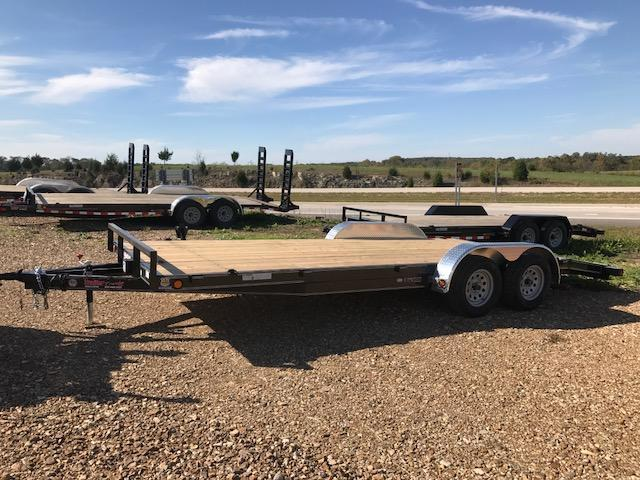 2018 Load Trail 83x20 CH 7K ALUMINUM FENDER Car / Racing Trailer