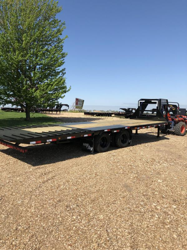 "2019 Load Trail 102"" X 28' Tandem Low-pro Gooseneck Equipment Trailer"