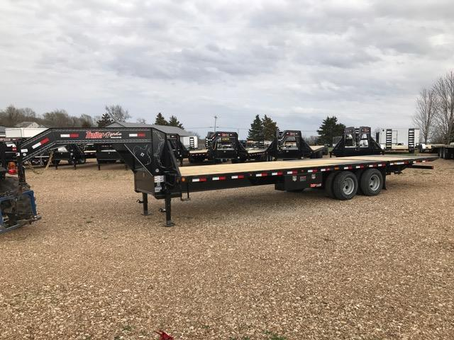 2017 Load Trail 102X30 GR STANDARD HEIGHT HYD DOVE Flatbed Trailer