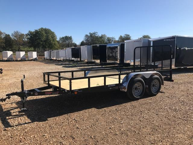 2018 Load Trail 77X14 SE TANDEM AXLE Utility Trailer
