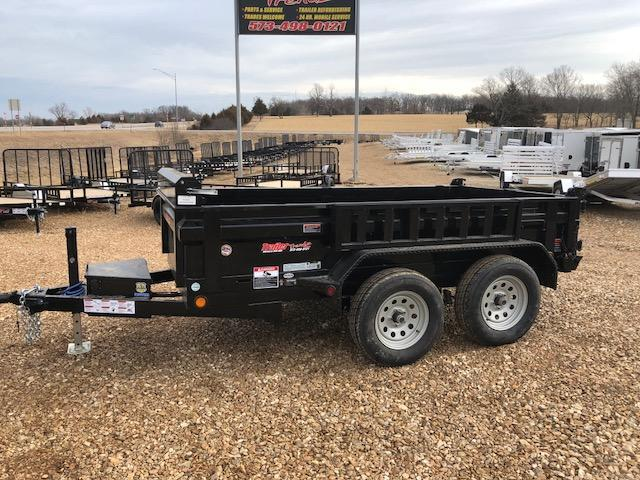 2018 Load Trail 5X10 TANDEM AXLE 7K GVWR Dump Trailer