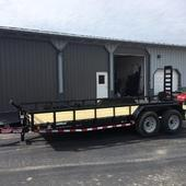 "2019 Load Trail 83"" X 20' Tandem Carhauler Car / Racing Trailer"
