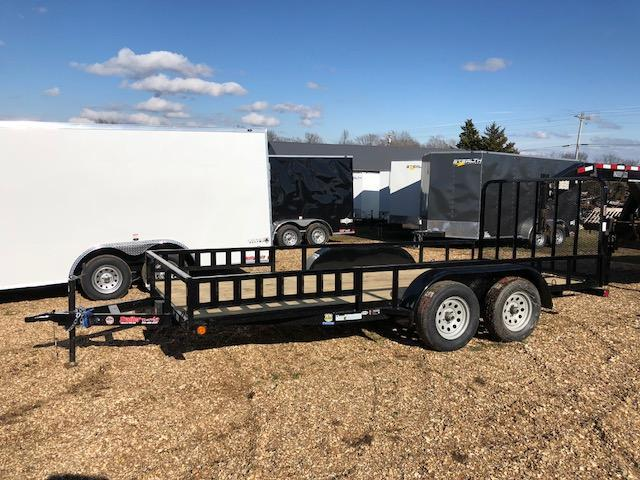 2018 Load Trail 83X16 UE TANDEM AXLE Utility Trailer