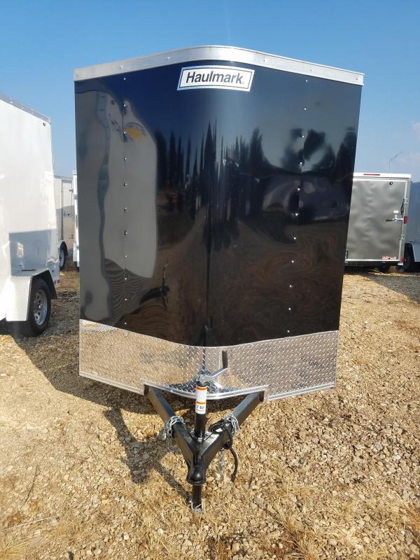 2020 Haulmark 6X10 HAULMARK SIDE DOOR/BARN DOOR Enclosed Cargo Trailer