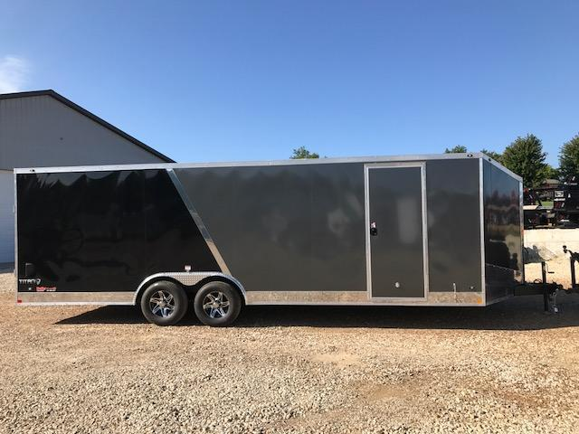 2018 Stealth Trailers 8.5X24 TITAN SE 10K TWO TONE W/ FLASH PACKAGE Enclosed Cargo Trailer