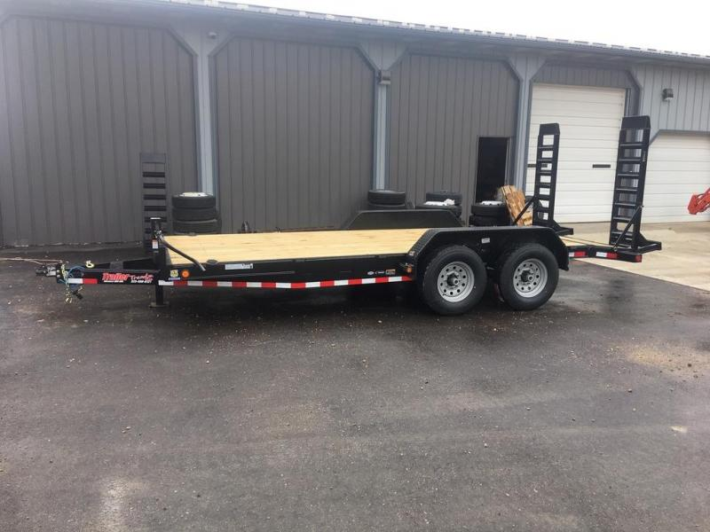 2019 Load Trail 83x18 Flatbed Trailer