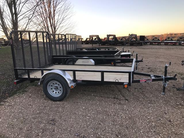 2018 Load Trail 77X10 SE TUBE GATE ALUMINUM FENDER Utility Trailer