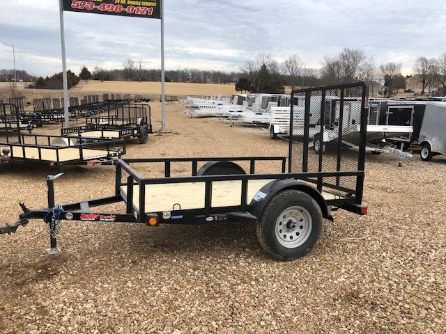 2018 Load Trail 5X8 SE SINGLE AXLE Utility Trailer