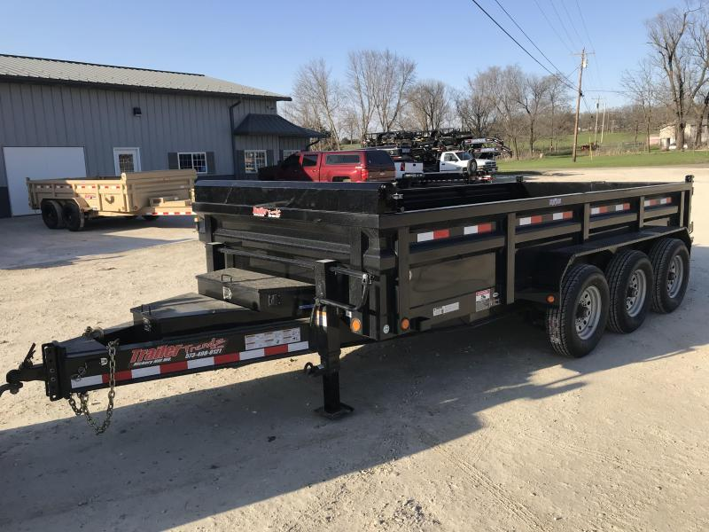 2018 Load Trail 83X16 DH 21K HEAVY DUTY Dump Trailer