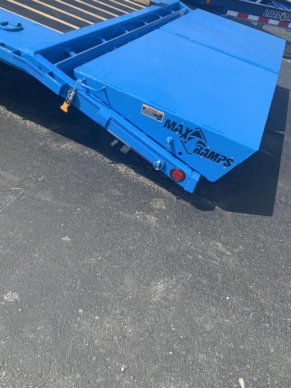 2020 Load Trail 102X26 LOADTRAIL MAX RAMPS WINCH PLATE BLUE Equipment Trailer