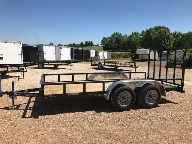 "2017 Load Trail UE7714032_4522 Utility Trailer 77"" X 14"