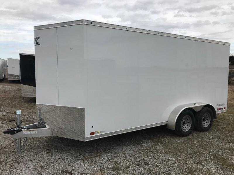 2018 Aluminum Trailer Company ATC 7X162 RAVEN ALUMINUM FRAMED Enclosed Cargo Trailer