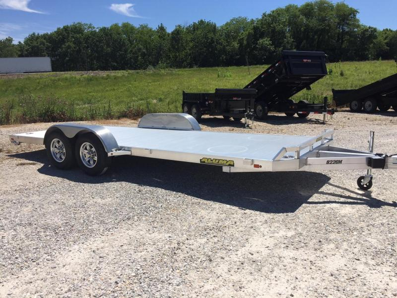 2018 Aluma 8220H Car / Racing Trailer
