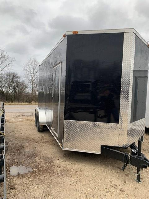 2019 Triple R 7X16 Enclosed Cargo Trailer