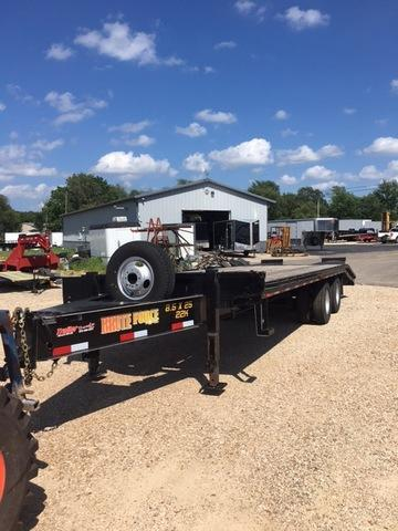 2016 Doolittle Trailer Mfg 2016 102X25 DOOLITTLE DECKOVER PINTLE HOOK Flatbed Trailer