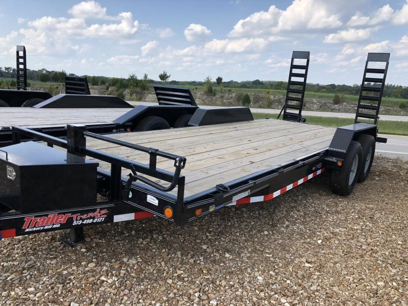 2019 Load Trail 83X20 CARHAULER Flatbed Trailer
