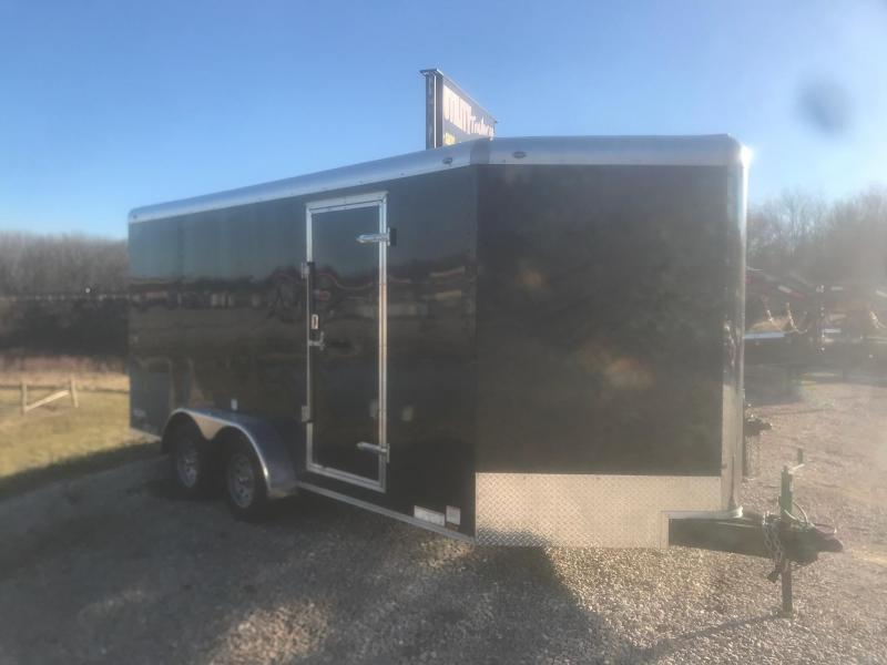 2018 Continental Cargo 7x16 TAILWIND NITRO Enclosed Cargo Trailer